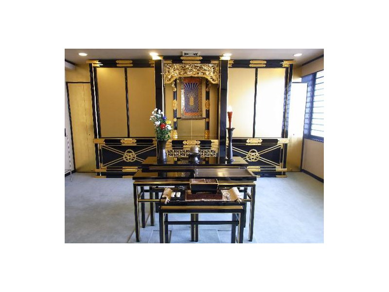 萬栄寺浄苑 法要室