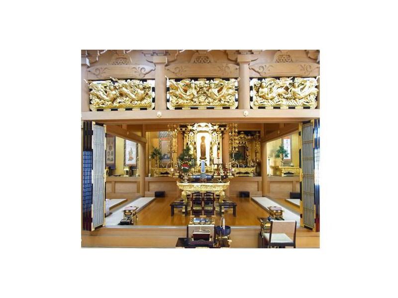 萬栄寺浄苑 本堂